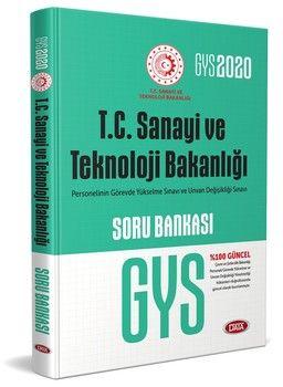 Data Yayınları GYS T.C. Sanayi ve Teknoloji Bakanlığı Soru Bankası