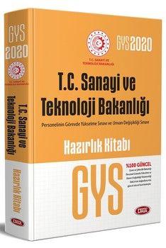 Data Yayınları GYS T.C. Sanayi ve Teknoloji Bakanlığı Hazırlık Kitabı