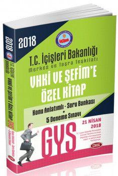 Data Yayınları GYS İçişleri Bakanlığı VHKİ ve Şefime Özel Konu Anlatımlı Soru Bankası 5 Deneme Sınavı
