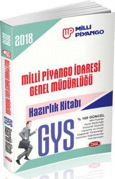 Data Yayınları GYS Milli Piyango İdaresi Genel Müdürlüğü Hazırlık Kitabı