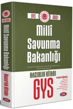 Data Yayınları GYS Milli Savunma Bakanlığı Hazırlık Kitabı