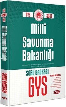 Data Yayınları GYS Milli Savunma Bakanlığı Soru Kitabı