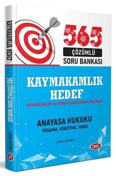 Data Yayınları Hedef Kaymakamlık ve Kurum Sınavlarına Hazırlık Anayasa Hukuku 565 Çözümlü Soru Bankası