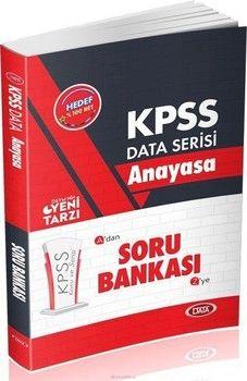 Data Yayınları KPSS Anayasa Soru Bankası