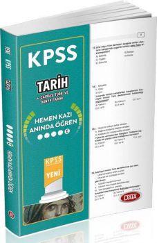 Data Yayınları KPSS Tarih Hemen Kazı Anında Öğren Çek Kopart Yaprak Test