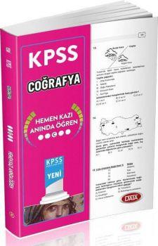Data Yayınları KPSS Coğrafya Hemen Kazı Anında Öğren Çek Kopart Yaprak Test