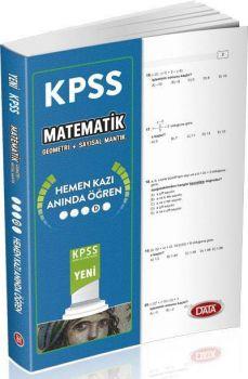 Data Yayınları KPSS Matematik Geometri Sayısal Mantık Hemen Kazı Anında Öğren Çek Kopart Yaprak Test