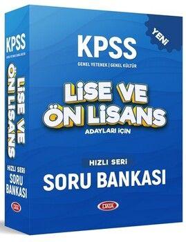 Data Yayınları KPSS GY GK Lise ve Önlisans Hızlı Soru Bankası