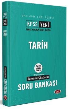 Data Yayınları KPSS Optimum Juri Serisi Tarih Tamamı Çözümlü Soru Bankası