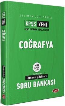 Data Yayınları KPSS Coğrafya Optimum Jüri Serisi Çözümlü Soru Bankası