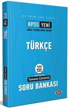 Data Yayınları KPSS Optimum Juri Serisi Türkçe Çözümlü Soru Bankası