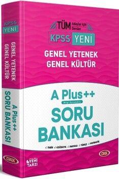 Data Yayınları KPSS Genel Yetenek Genel Kültür A Plus ++ Soru Bankası