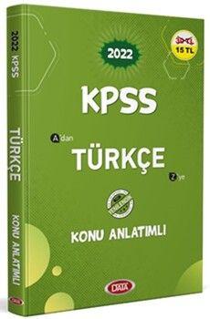 Data Yayınları KPSS Türkçe Konu Anlatımlı