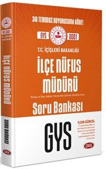 Data Yayınları T.C. İçişleri Bakanlığı İlçe Nüfus Müdürü GYS Soru Bankası