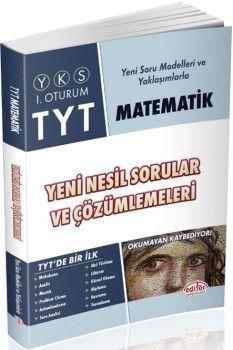 Data Yayınları TYT Matematik Yeni Nesil Sorular ve Çözümlemeleri