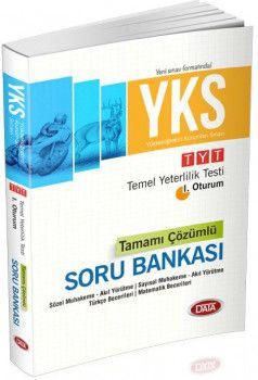 Data Yayınları YKS 1. Oturum TYT Tamamı Çözümlü Soru Bankası