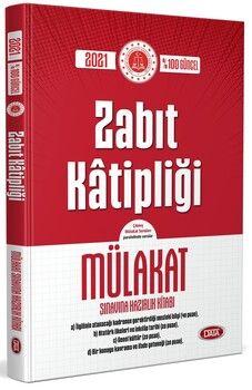 Data Yayınları Zabıt Katipliği Mülakat Sınavına Hazırlık Kitabı