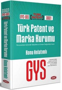Data YayınlarıGYS UDS Türk Patent ve Marka Kurumu Konu Anlatımlı