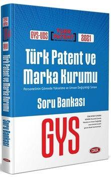 Data YayınlarıGYS UDS Türk Patent ve Marka Kurumu Soru Bankası