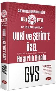 Data Yayınlarıİçişleri Bakanlığı VHKİ ve Şefim e Özel GYS Hazırlık Kitabı