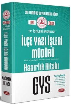 Data YayınlarıT.C. İçişleri Bakanlığı İlçe Yazı İşleri Müdürü GYS Hazırlık Kitabı