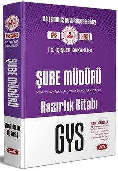 Data YayınlarıT.C. İçişleri Bakanlığı Şube Müdürü GYS Hazırlık Kitabı