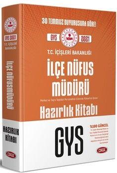 Data YayınlarıT.C. İçişleri Bakanlığı İlçe Nüfus Müdürü GYS Hazırlık Kitabı