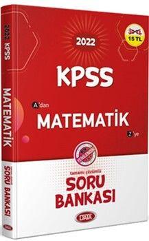 Data Yayınları2022 KPSS Matematik Soru Bankası