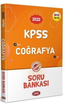 Data Yayınları2022KPSS Coğrafya Soru Bankası