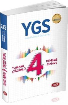 Data YGS Tamamı Çözümlü 4 Deneme Sınavı
