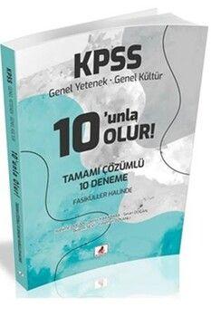 DB Yayıncılık 2021 KPSS Genel Yetenek Genel Kültür 10 unla Olur 10 Deneme