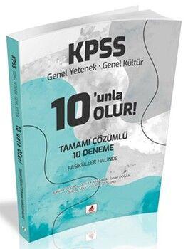 DB YayıncılıkKPSS Genel Yetenek Genel Kültür 10 unla Olur 10 Deneme Çözümlü