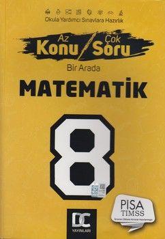 DC Yayınları 8. Sınıf Matematik Az Konu Çok Soru Bir Arada