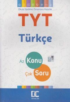 DC Yayınları TYT Türkçe Az Konu Çok Soru Bir Arada