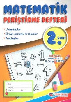 Dört İşlem 2. Sınıf Matematik Pekiştirme Defteri