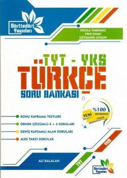 Dörttedört Yayınları YKS 1. Oturum TYT Türkçe Soru Bankası
