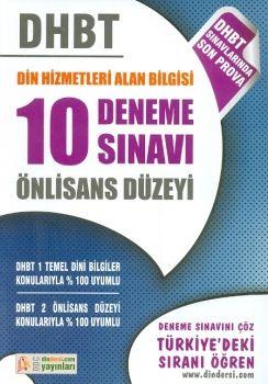 DDC Yayınları DHBT Din Hizmetleri Alan Bilgisi 10 Deneme Sınavı Önlisans Düzeyi