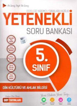 DDY Yayınları 5. Sınıf Yetenekli Din Kültürü ve Ahlak Bilgisi Soru Bankası