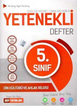DDY Yayınları 5. Sınıf Yetenekli Din Kültürü ve Ahlak Bilgisi Defter