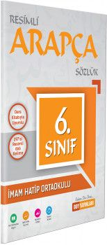 DDY Yayınları 6. Sınıf Resimli Arapça Sözlük