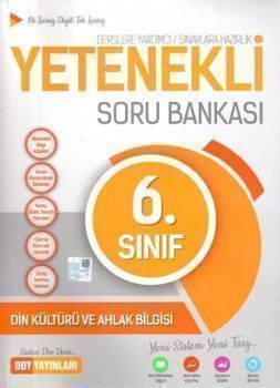 DDY Yayınları 6. Sınıf Yetenekli Din Kültürü ve Ahlak Bilgisi Soru Bankası