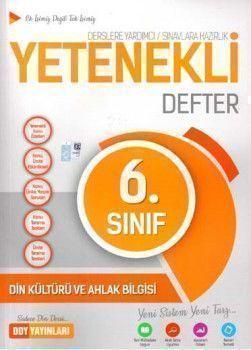 DDY Yayınları 6. Sınıf Yetenekli Din Kültürü ve Ahlak Bilgisi Defter