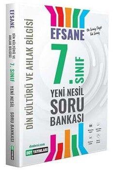 DDY Yayınları 7.Sınıf Din Kültürü ve Ahlak Bilgisi Efsane Yeni Nesil Soru Bankası