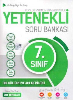 DDY Yayınları 7. Sınıf Yetenekli Din Kültürü ve Ahlak Bilgisi Soru Bankası