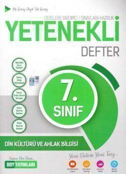 DDY Yayınları 7. Sınıf Yetenekli Din Kültürü ve Ahlak Bilgisi Defter