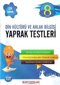 DDY Yayınları 8. Sınıf Din Kültürü ve Ahlak Bilgisi Yaprak Test