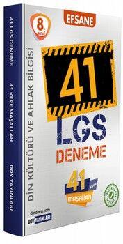 DDY Yayınları 8. Sınıf LGS Din Kültürü ve Ahlak Bilgisi Efsane 41 Deneme