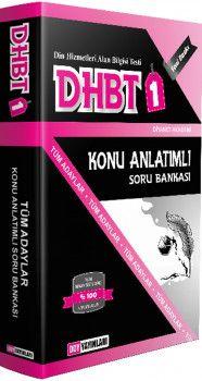 DDY Yayınları DHBT 1 Tüm Adaylar Konu Anlatımlı Soru Bankası