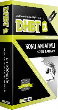 DDY Yayınları DHBT 2 Ortaöğretim Konu Anlatımlı Soru Bankası