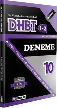 DDY Yayınları DHBT 1 2 Önlisans 10 Deneme